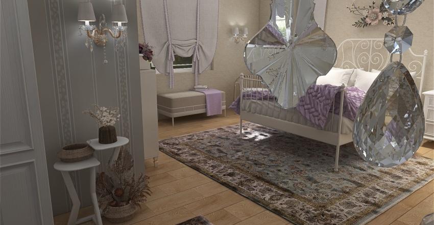 Rustic Elegance Interior Design Render