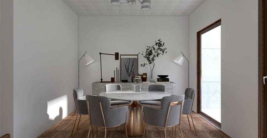 Planta 2 Proyecto 1 Diseño IV Interior Design Render