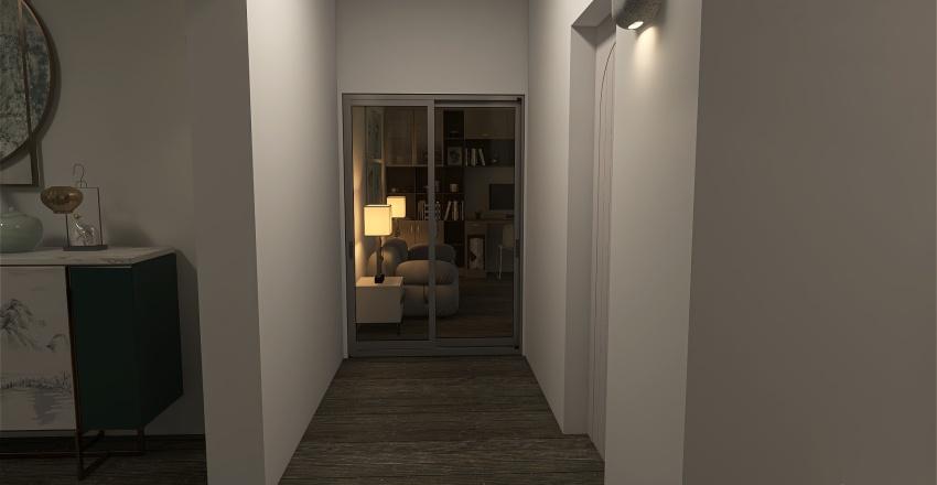 Casita para el verano Interior Design Render
