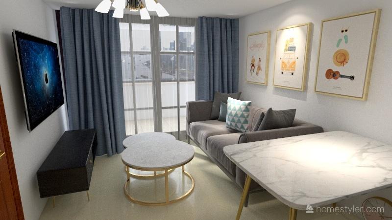 sweethome Interior Design Render