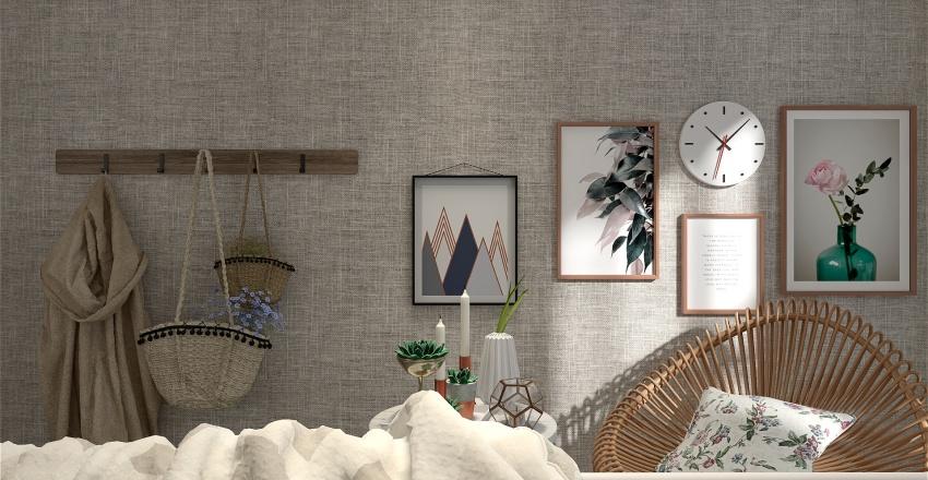 Rustic Retreat Interior Design Render