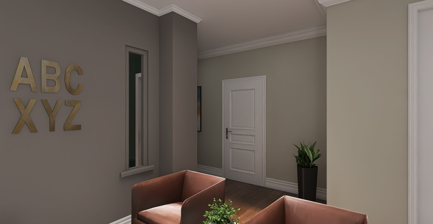 Law Offices of Misbah Chaudhry Interior Design Render