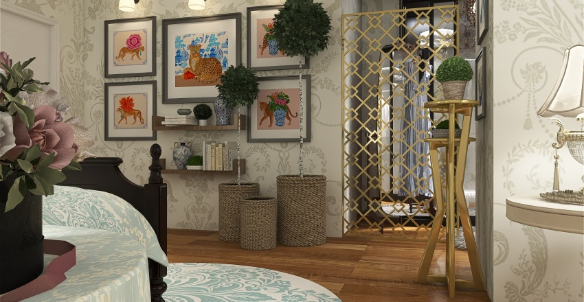 Grandmillennialism Interior Design Render