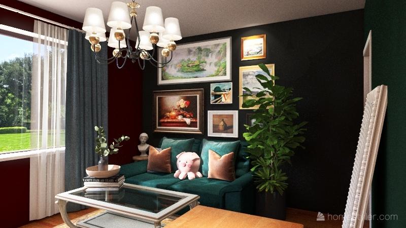 EPIC free time room Interior Design Render