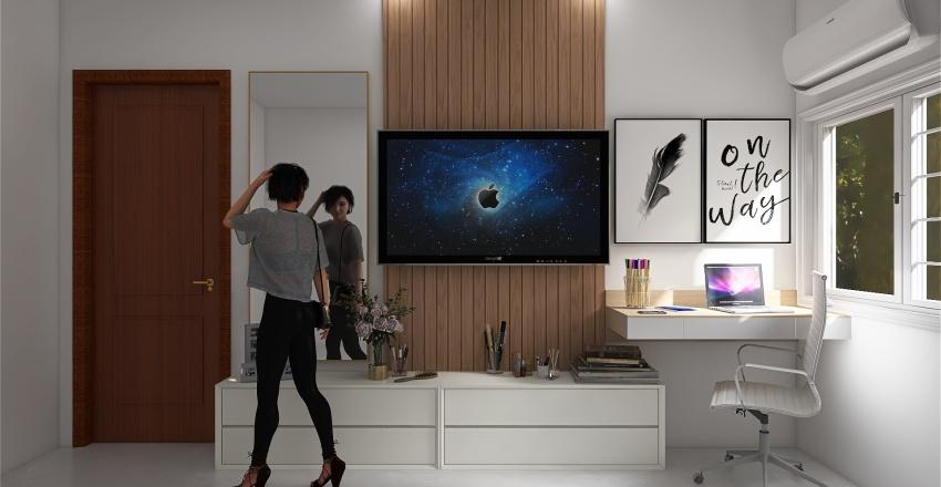 Quarto Lorena Interior Design Render