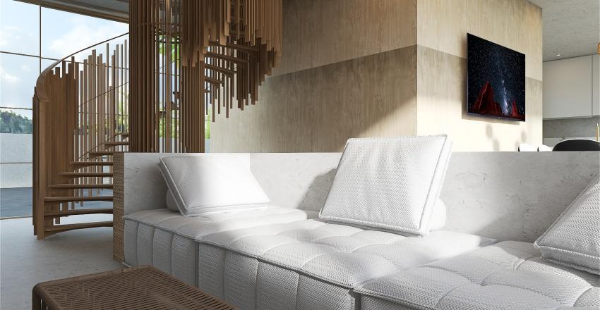 Natural World Interior Design Render