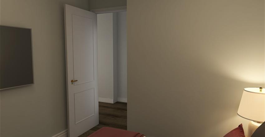 Баден кровати  белый мрамор Interior Design Render