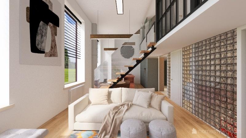 Homecity 11-1, туалет слева Interior Design Render