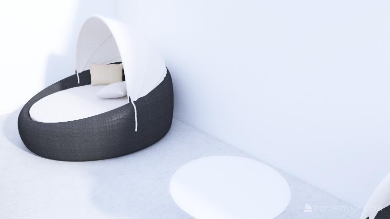 Tayla's Apartment Interior Design Render