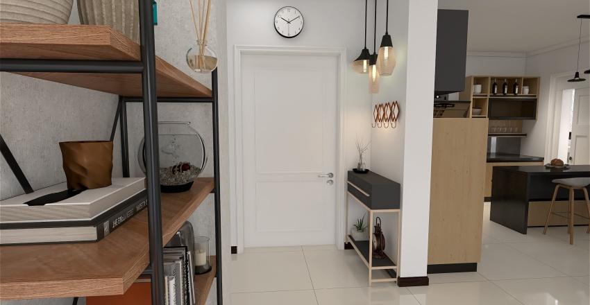 Bilocale moderno Interior Design Render