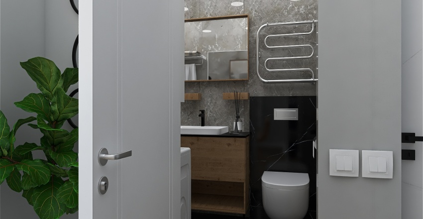 36 кв Interior Design Render