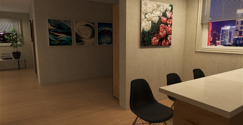#HOUSE 01 (new) Interior Design Render