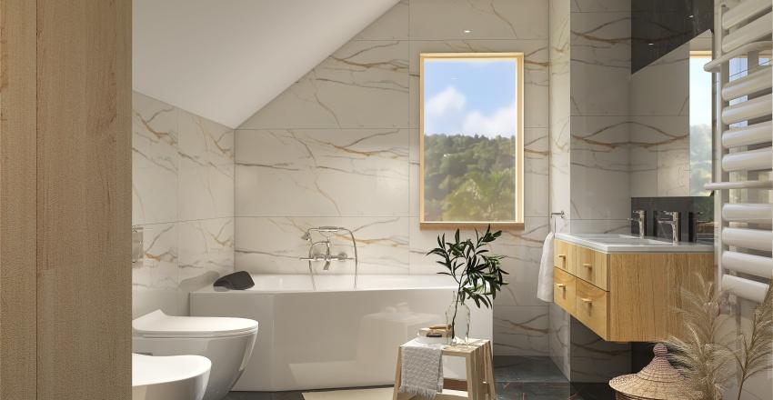 łazienka Asia Interior Design Render