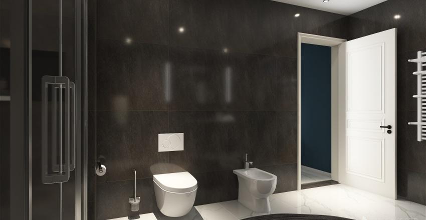 μοντερνο σπιτι Interior Design Render