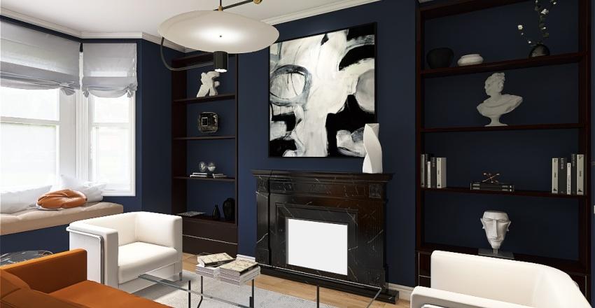 Dollis Hill - Living Room Interior Design Render
