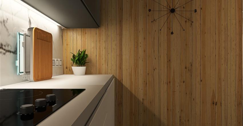 LUXURY MINI LOFT Interior Design Render