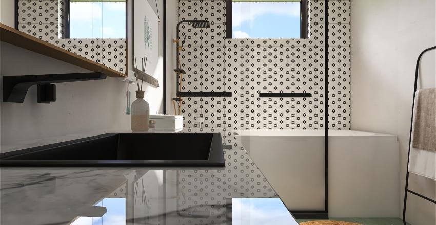 Contemporary California Home Interior Design Render