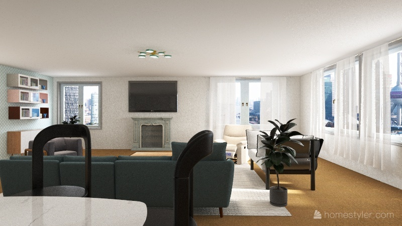 by and by mv set Interior Design Render