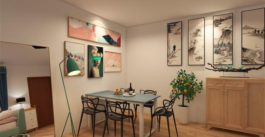 Dream Design of my current apartment part 2 Interior Design Render