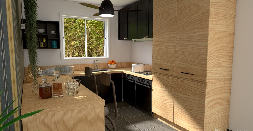 SAINT GERVASY Interior Design Render