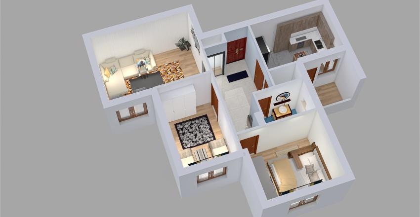 rezak f3 Interior Design Render