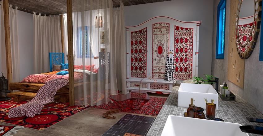 La Bohème à la Francaise Interior Design Render