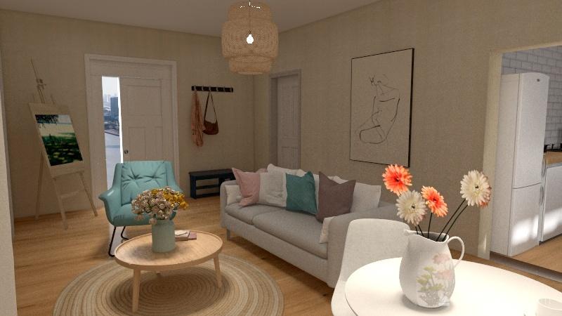 apart Interior Design Render