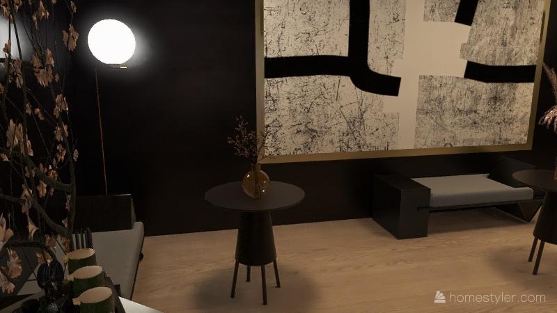Lou's bar Interior Design Render