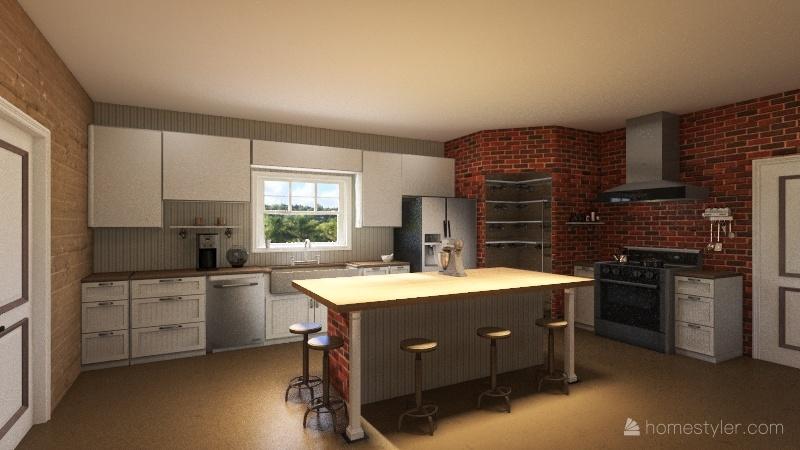 36x54 McHouse Interior Design Render