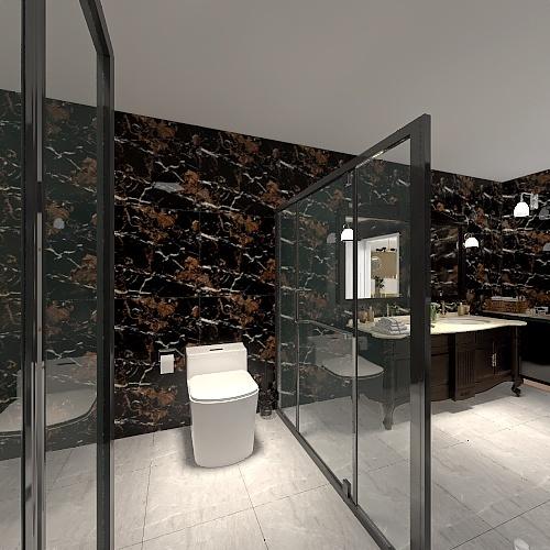 Villa 1 Interior Design Render