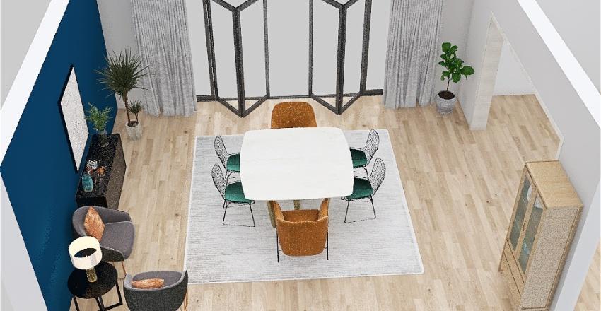 Desafío #2 - Comedor Interior Design Render