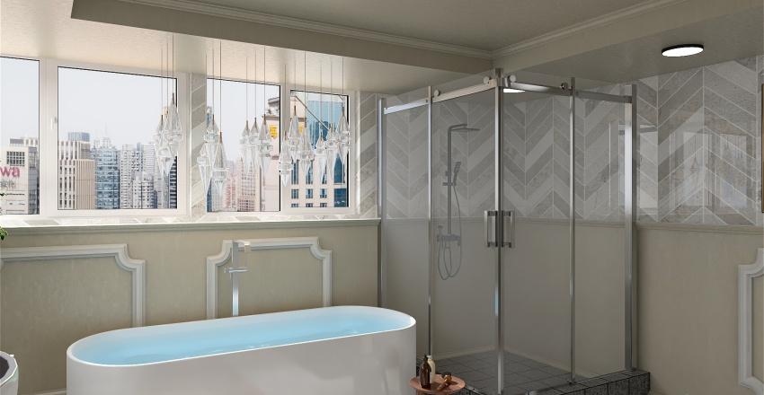 bathroom Interior Design Render