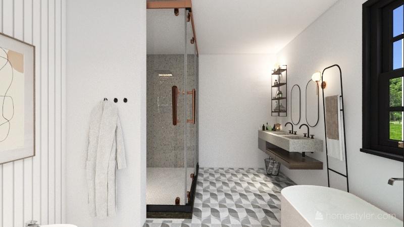 classy but funky!!! Interior Design Render
