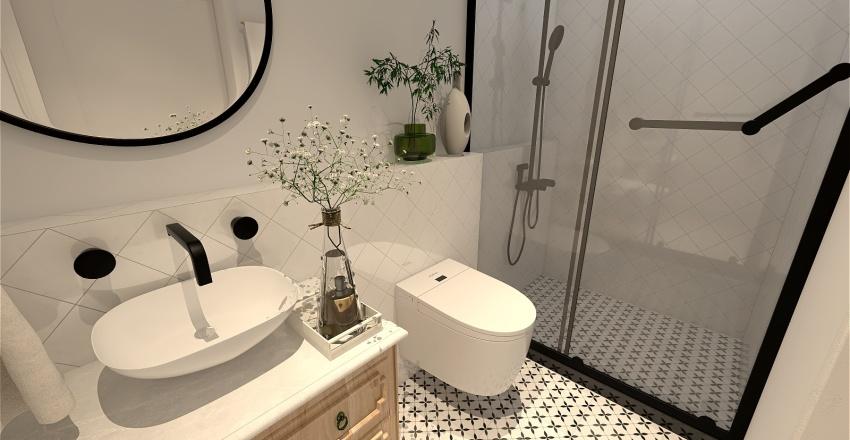 Łazienka na dole Interior Design Render