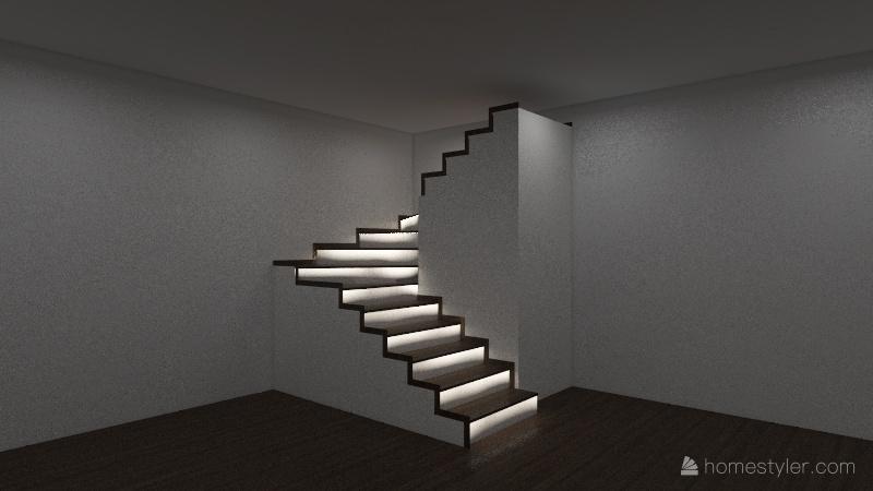 Schody Interior Design Render