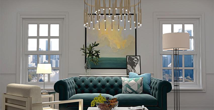 For side Interior Design Render