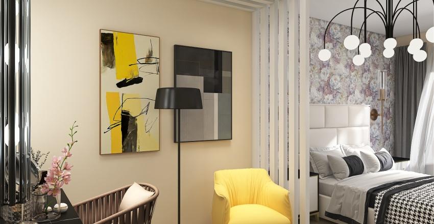 Anya flat Interior Design Render