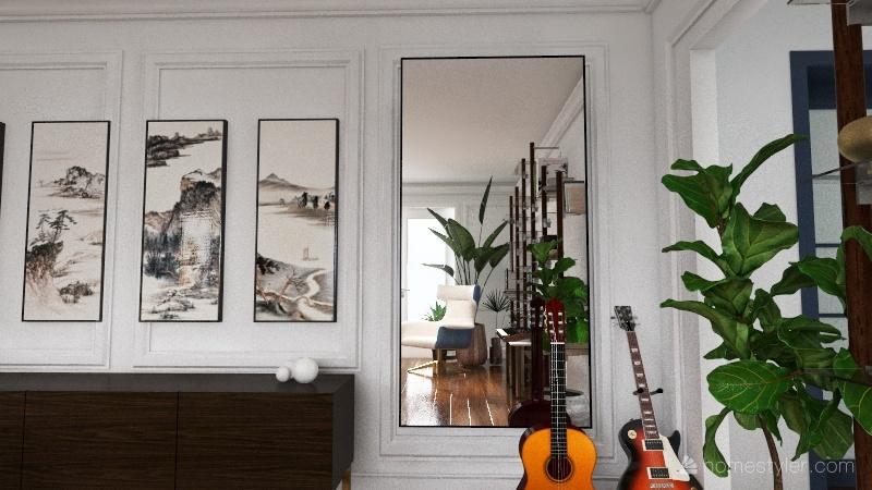 Приречная Interior Design Render