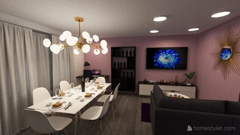 Casa Amelia Interior Design Render