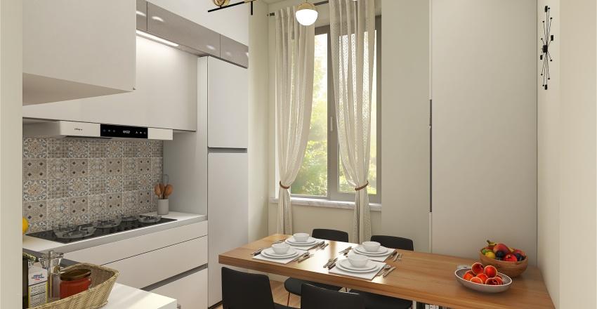 bagno/lavanderia/cucina Interior Design Render