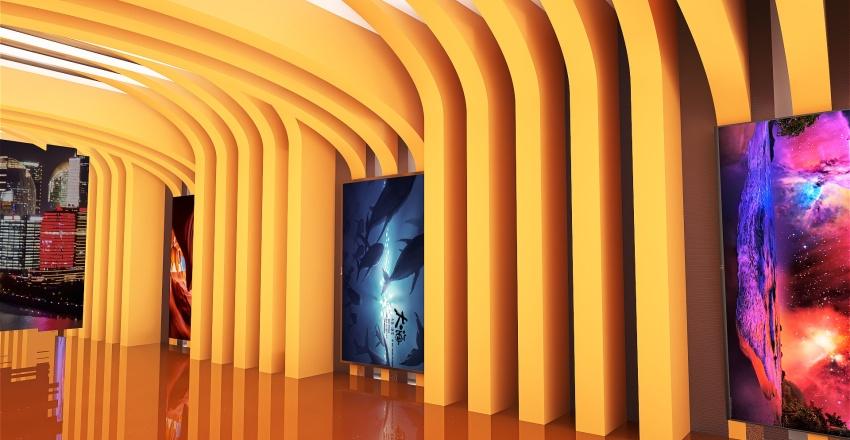 hallway Interior Design Render