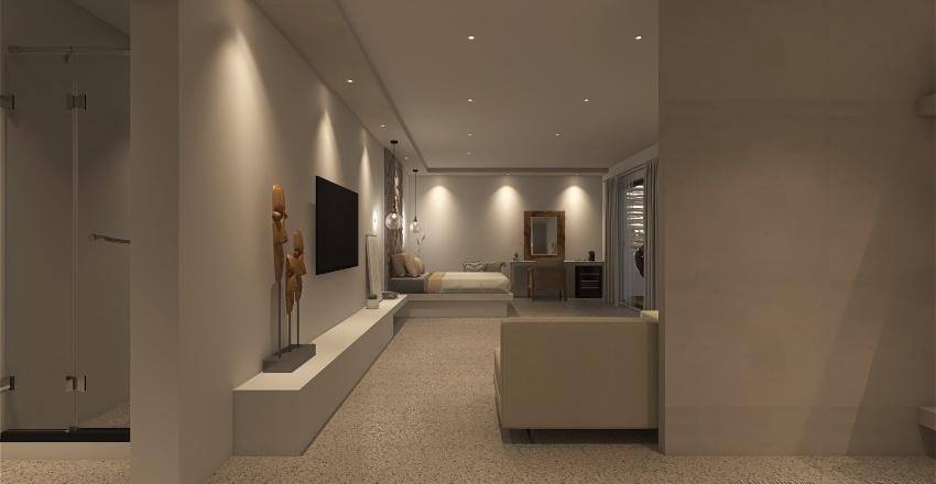 Savon Luxury Suites Interior Design Render