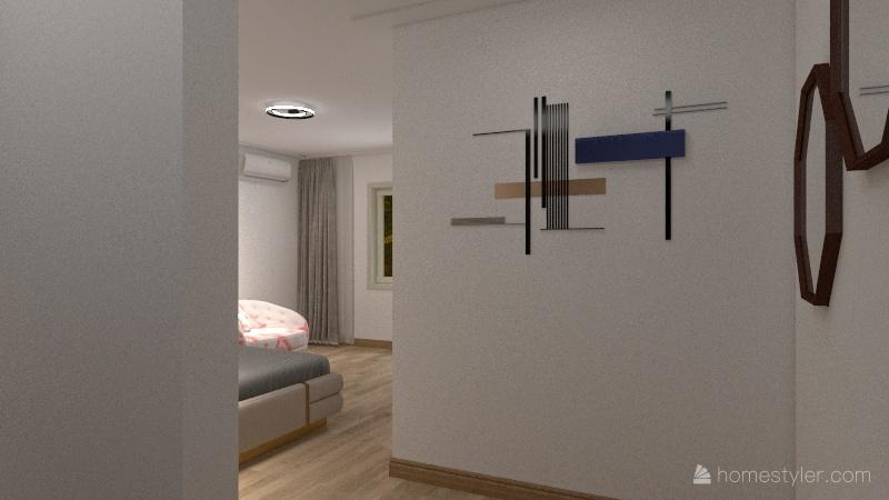 Close House Interior Design Render