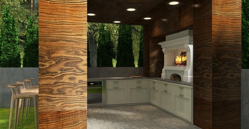 Rustic Farmhouse! Interior Design Render