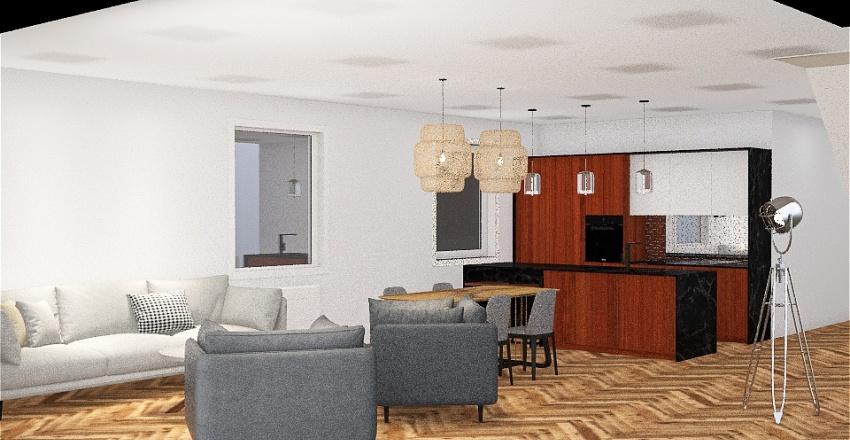 plan parter salon 1 Interior Design Render