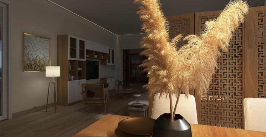 Astrid's Apartment Interior Design Render