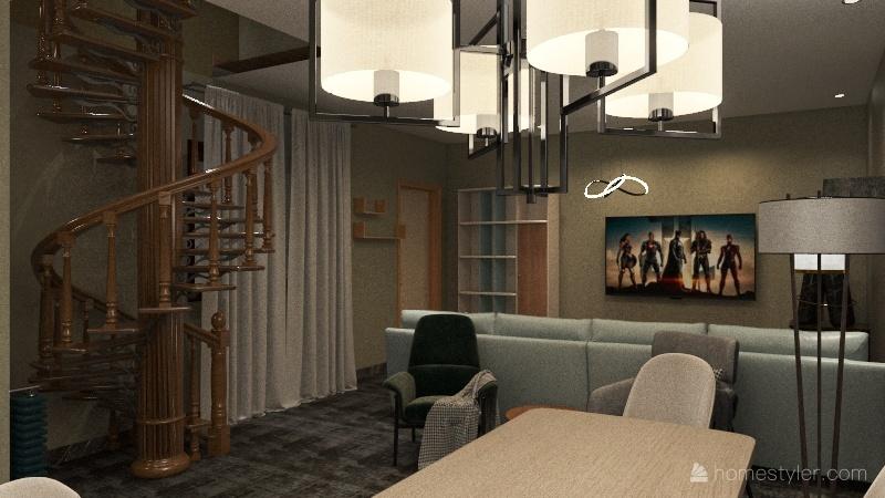 Casa na Saude  Interior Design Render