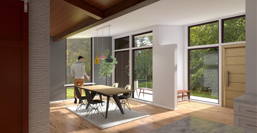 Whole House - Working Copy Interior Design Render