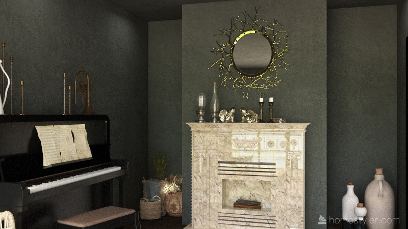 Pine Tree Lodge Interior Design Render