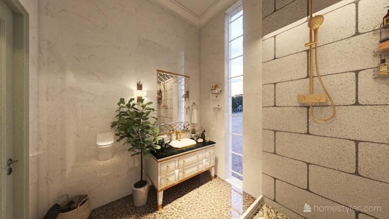 Mini House Interior Design Render